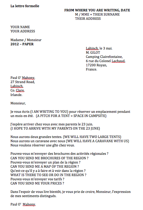 writing a cover letter in french notes for formal letter 25802 | 6835519 orig
